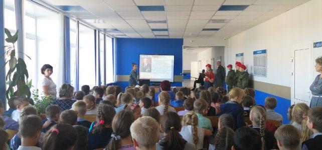 Мероприятие, по случаю 100-летия со дня рождения Михаила Тимофеевича Калашникова