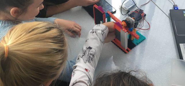 Мастер-класс по робототехнике «Создаем автоматические двери»